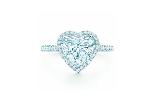 КОЛЬЦО Tiffany Soleste Heart арт. TF-50741