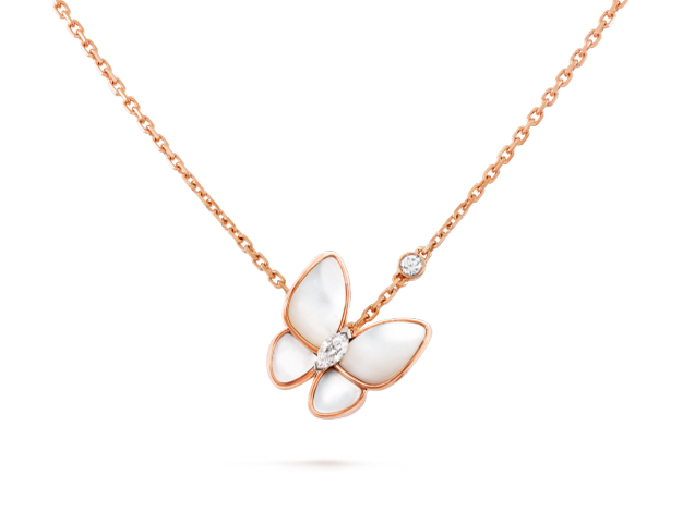 Подвеска Van Cleef Arpels коллекция Two Butterfly Fauna арт. VC-35432