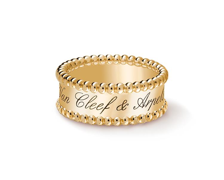 Кольцо Van Cleef Arpels коллекция Perlée signature VC-35475