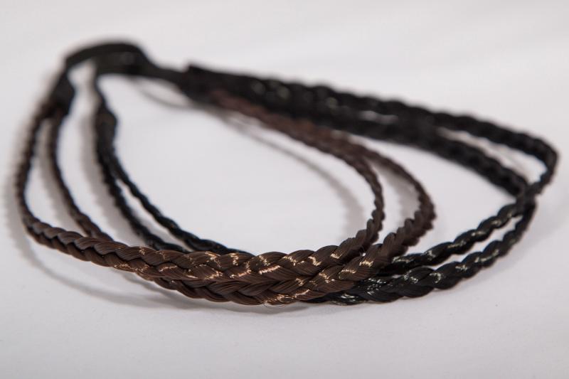 Резинка для греческой прически (коричневая)