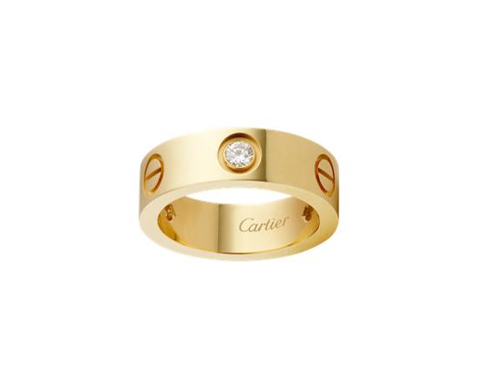 Кольцо Картье Love, цвета желтого золота CR-08485