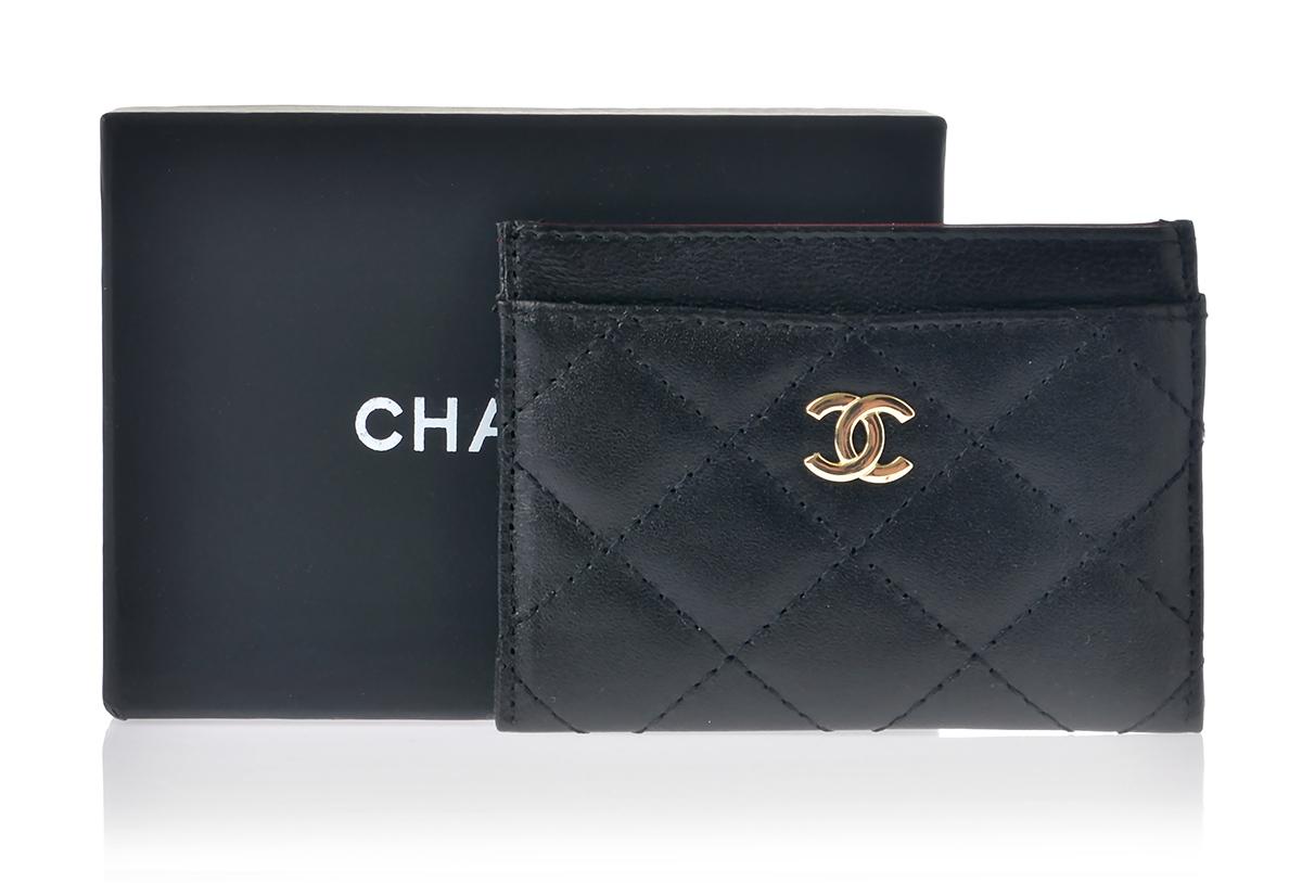 Кошелек для пластиковых карт Шанель арт. CH-40105