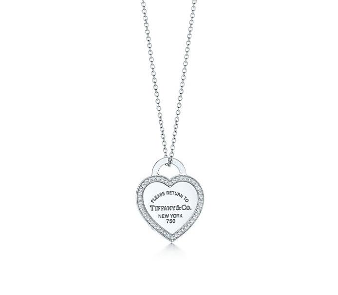 Подвеска Tiffany сердце арт. TF-25769