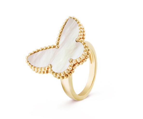 Кольцо Van Cleef Arpels коллекция Lucky Alhambra Butterfly арт. VC-18425