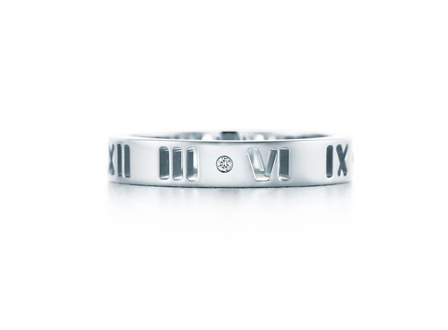 Кольцо Atlas Tiffany кольцо с художественной перфорацией арт. TF-08778