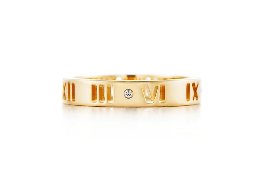 Кольцо Atlas Tiffany кольцо с художественной перфорацией арт. TF-10781