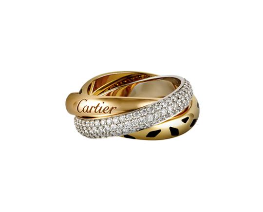 Кольцо Cartier Trinity SAUVAGE арт. CR-45250