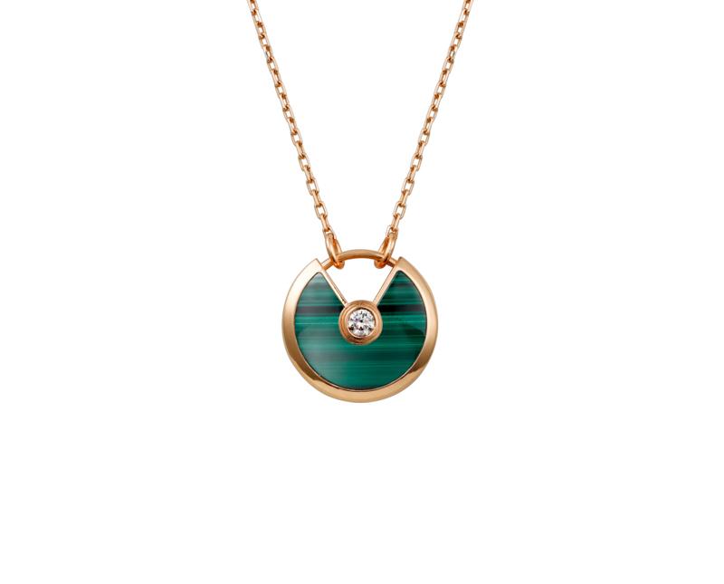 Колье Amulette de Cartier Малахит арт. CR-25337