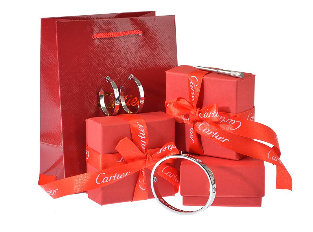 Серьги Картье Love Cartier арт. CR-18504