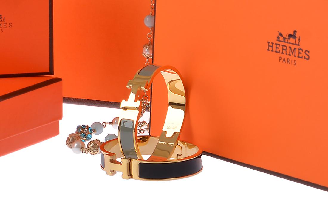 Браслет Hermes Clic Clac арт. HM-30174