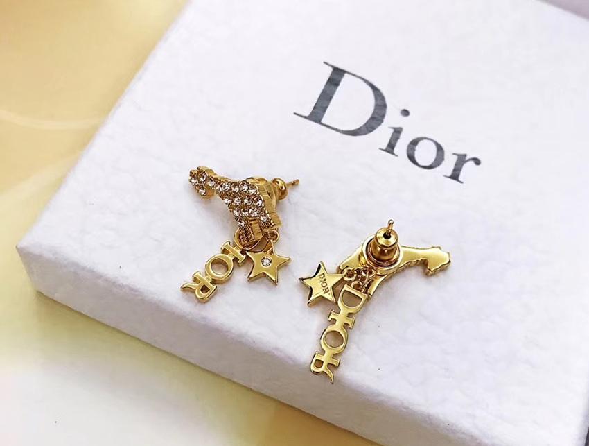 Серьги Dior Diorable с мотивом жирафа арт. DS-35319