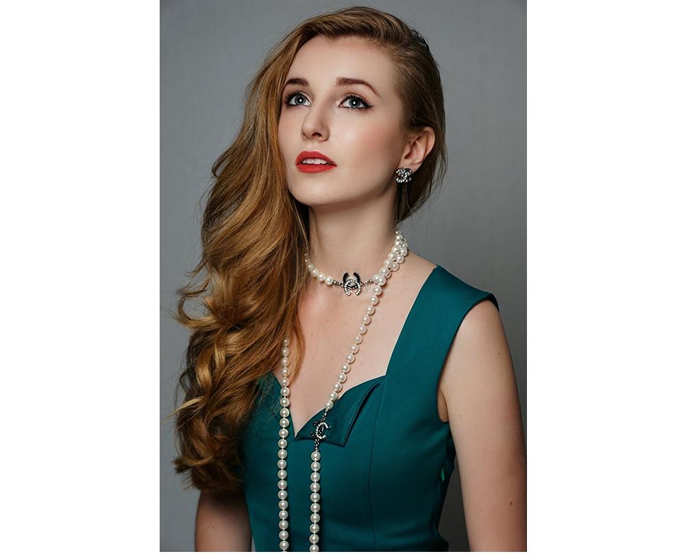 Жемчужное ожерелье Шанель арт. CH-28478
