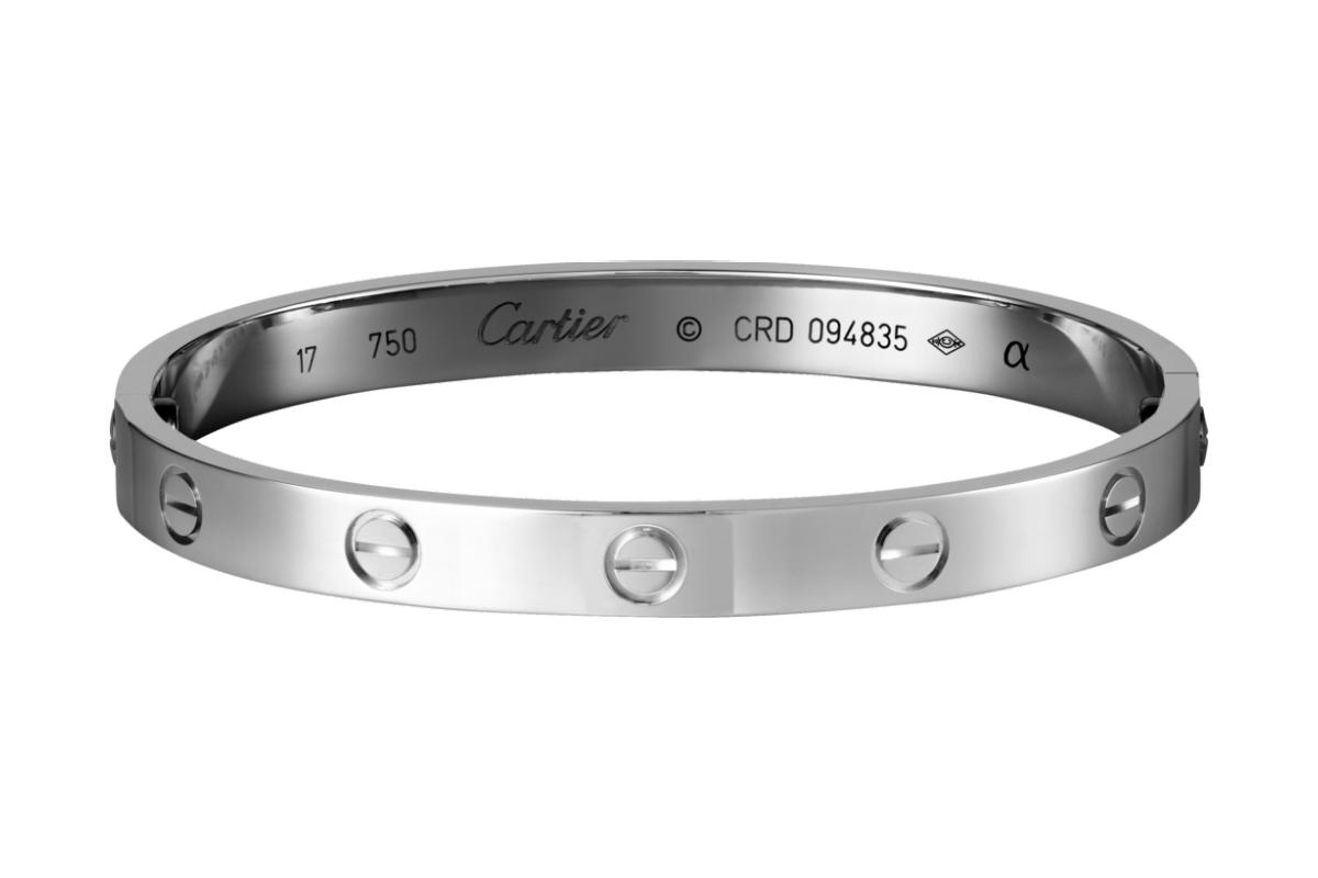 Комплект Картье Love браслет и кольцо CR-31487