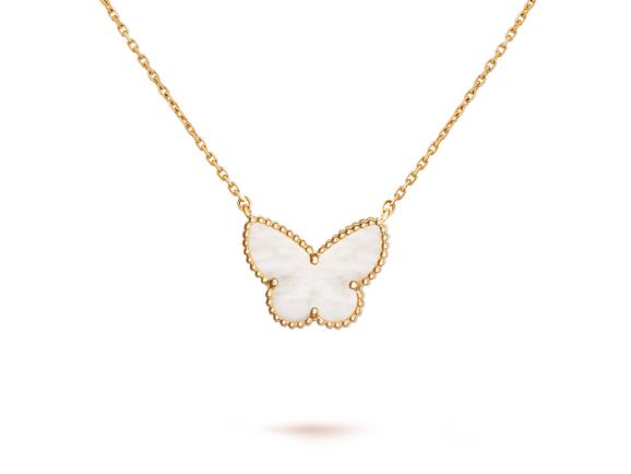 Комплект украшений Van Cleef Arpels коллекция Lucky Alhambra Butterfly (кольцо и серьги) арт. VC-58437