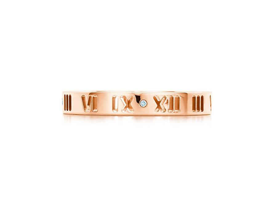 Кольцо Atlas Tiffany кольцо с художественной перфорацией арт. TF-10783