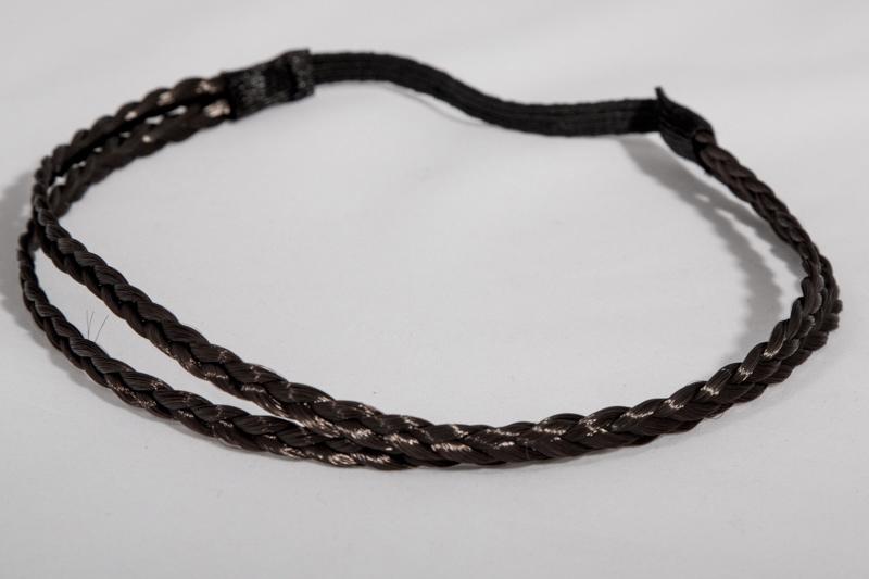Резинка для греческой прически (черная)