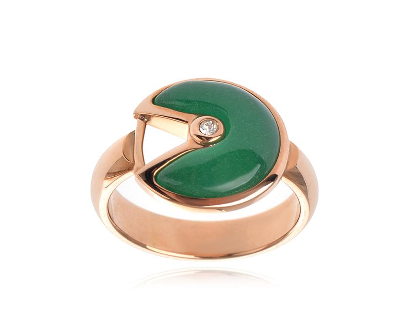 Кольцо Amulette de Cartier арт. CR-20509