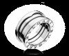Кольцо BVLGARI B.ZERO1 в 2 полосы арт. ZERO-16024